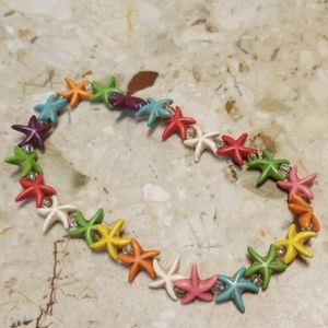 Star Fish ankle bracelet